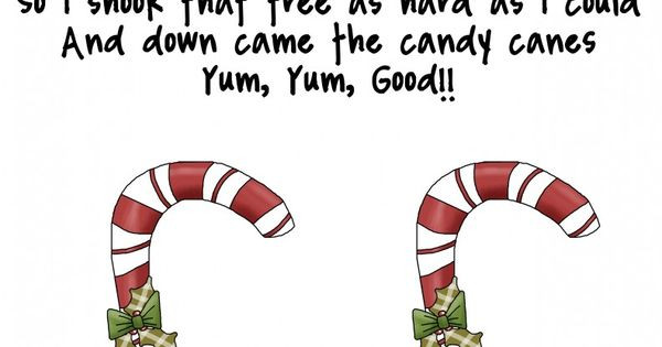 "Candy Cane Christmas Lyrics  Song ""Two Little Candy Canes"" free from Me & Marie"