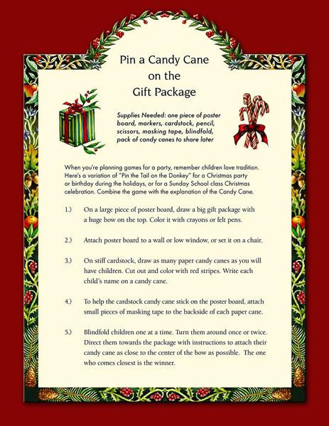 Candy Cane Christmas Lyrics  The Meaning of Christmas Tree Ornaments PDF