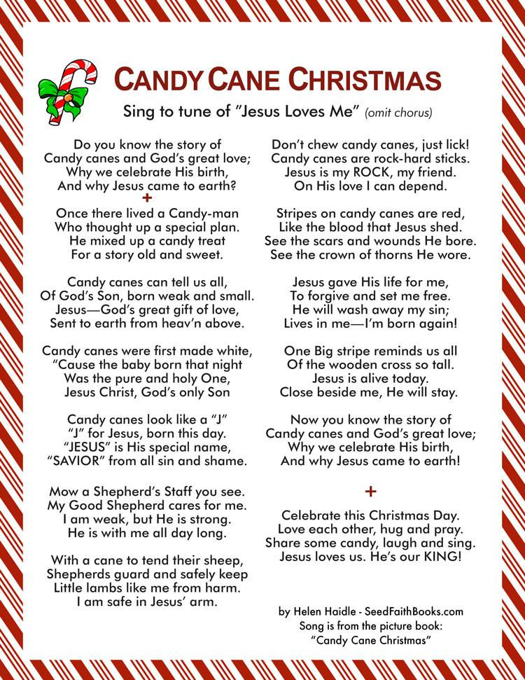 Candy Cane Christmas Lyrics  Candy Cane Christmas Song