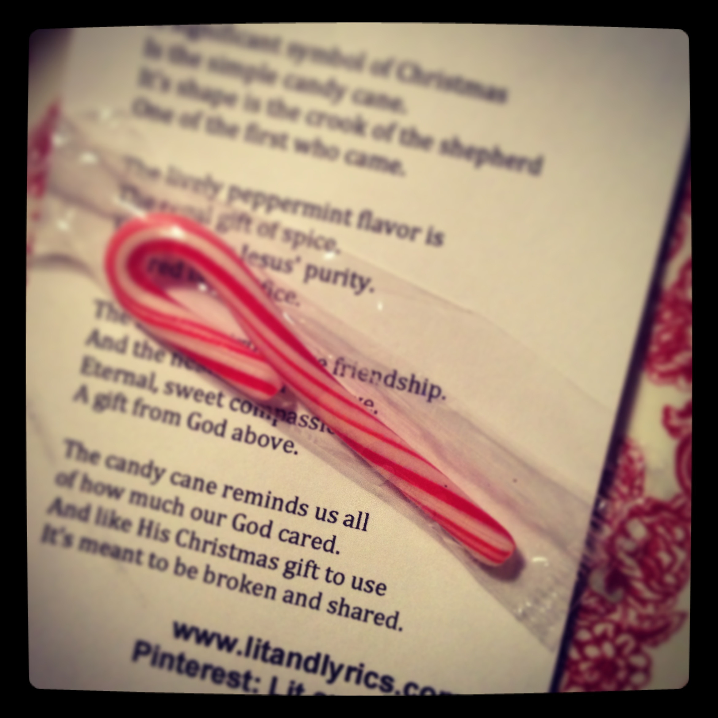 Candy Cane Christmas Lyrics  Lit & Lyrics