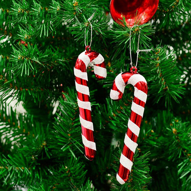 Candy Cane Christmas Ornaments  New 6 Pcs 9 5cm Christmas Tree Candy Cane Ornaments Xmas