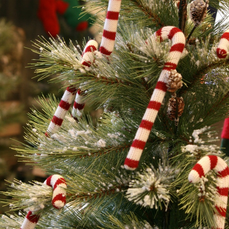 Candy Cane Christmas Ornaments  A DIY Christmas Decorating your Home on a Bud