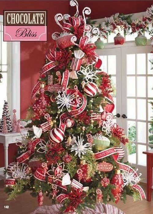 Candy Cane Christmas Tree Decorating Ideas  Cute Pinterest Christmas trees