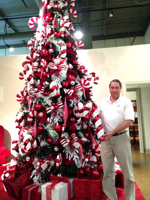 Candy Cane Christmas Tree Decorations  decor