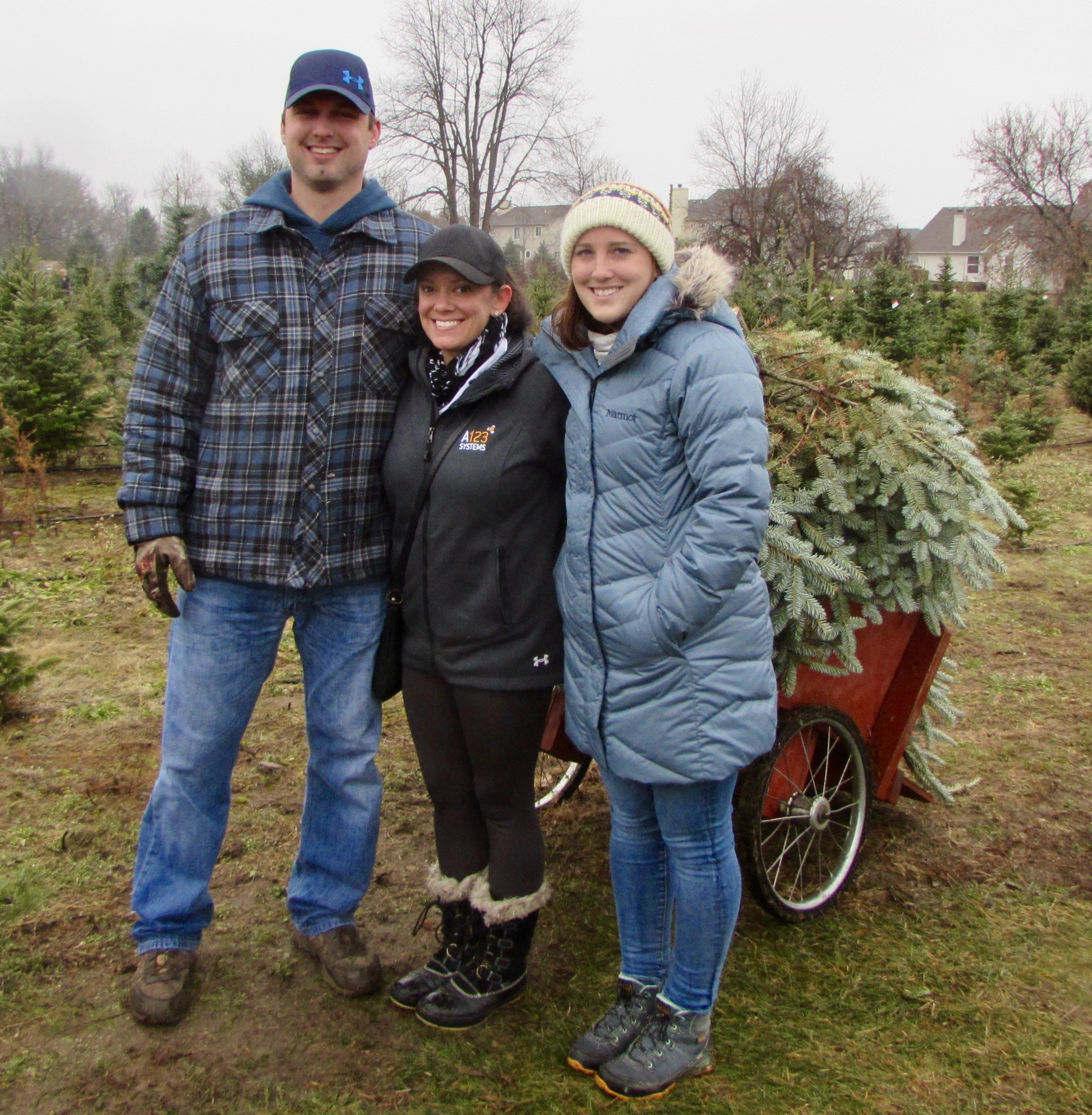 Candy Cane Christmas Tree Farm  Family tradition at Candy Cane Christmas Tree Farm