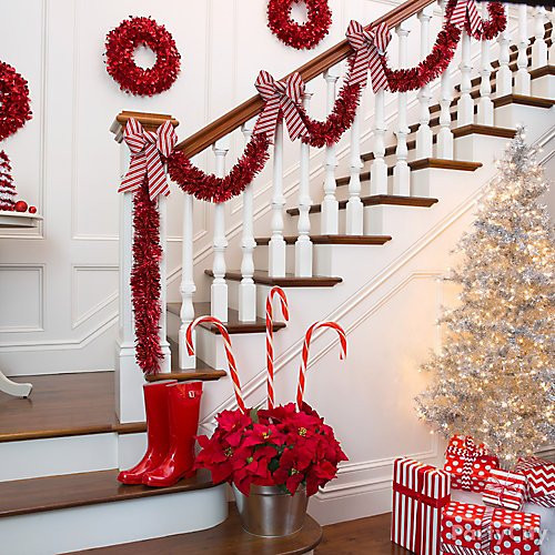 Candy Cane Ideas For Christmas  Candy Cane Christmas Decorations