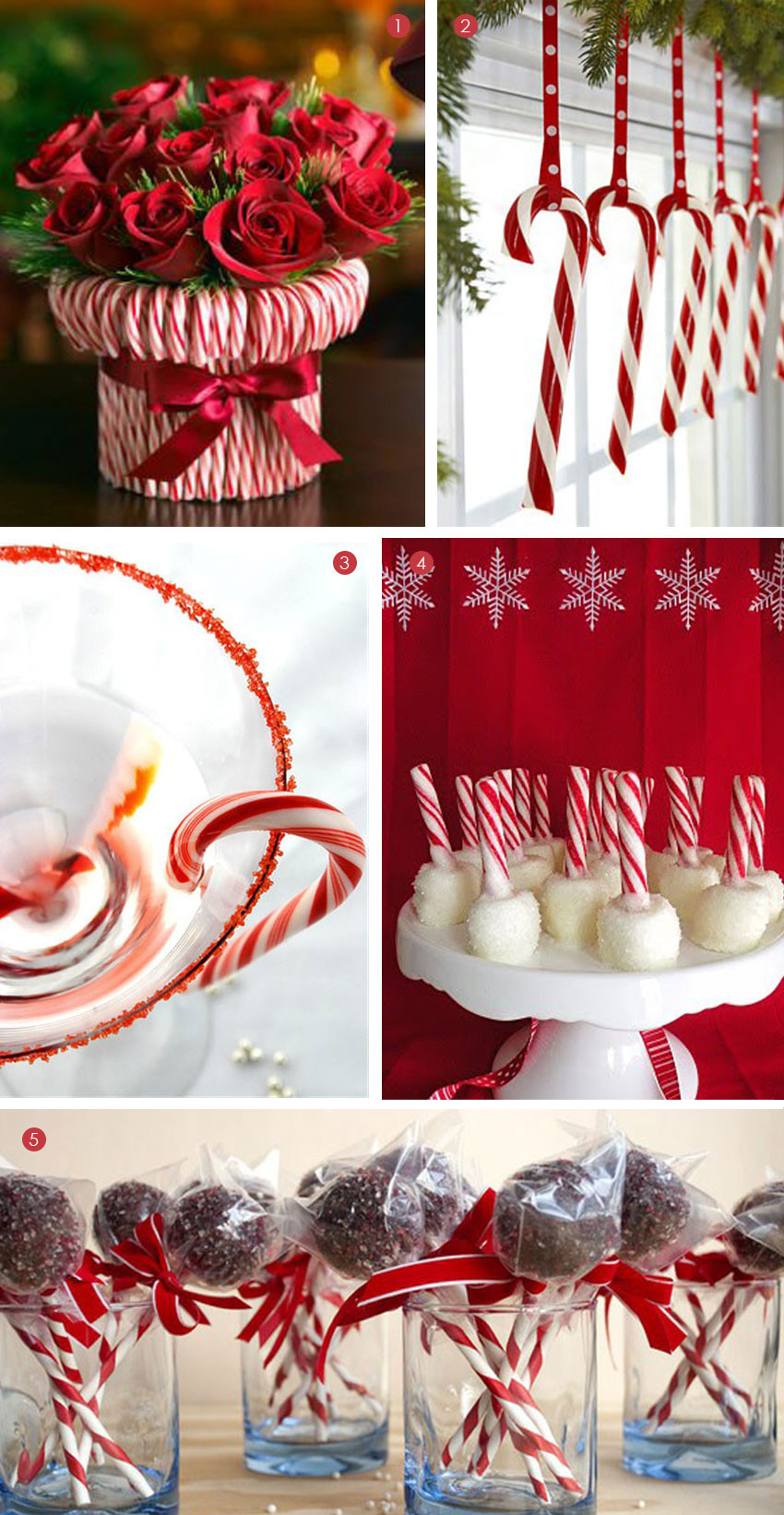 Candy Cane Ideas For Christmas  Desserts Candy Cane Treats