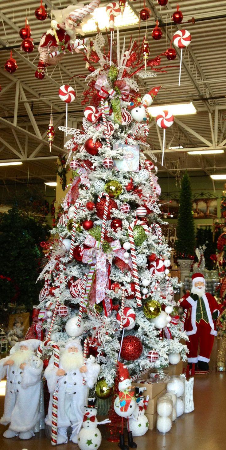Candy Canes On Christmas Tree  Candy Cane Christmas Tree ARCADIA Christmas