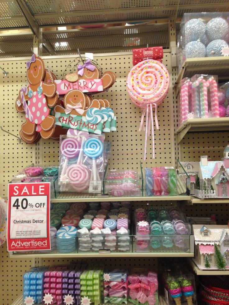 Candy Christmas Decorations Hobby Lobby  25 best Candyland images on Pinterest