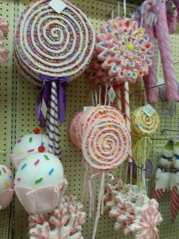 Candy Christmas Decorations Hobby Lobby  Hobby Lobby giant candy decor