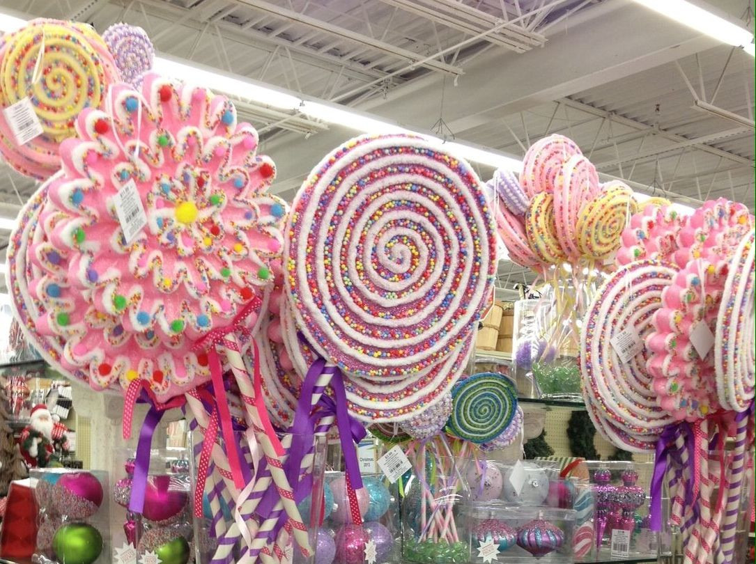Candy Christmas Decorations Hobby Lobby  Hobby lobby giant candy Hobby lobby Pinterest