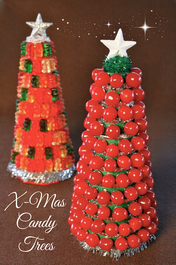 Candy Christmas Tree Craft  Food Craft How To Build A Candy Christmas Tree