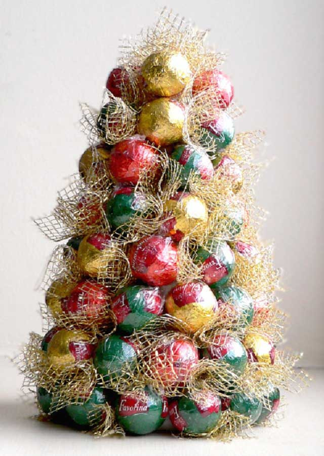 Candy Christmas Tree Craft  21 Creative Christmas Craft Ideas for The Family