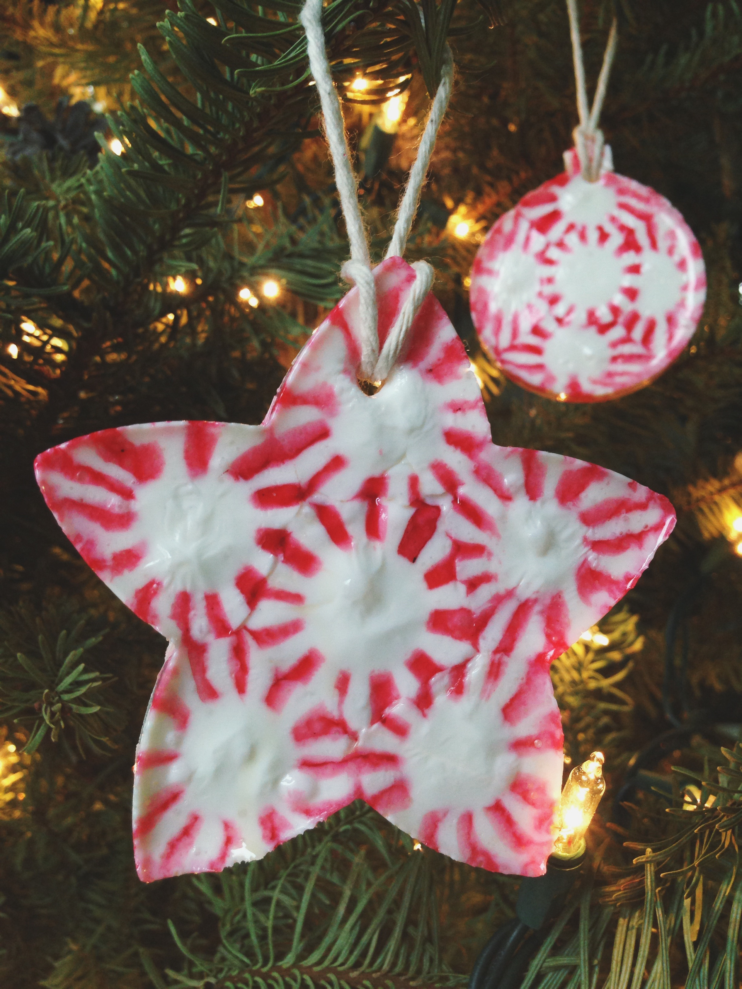 Candy Christmas Tree Ornaments  Peppermint Candy Christmas Ornaments