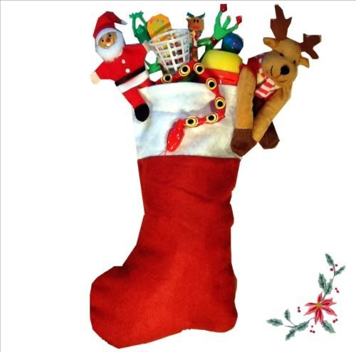 Candy Filled Christmas Stockings  Filled Christmas Stocking STANDARD GIRLS Wow Tastic