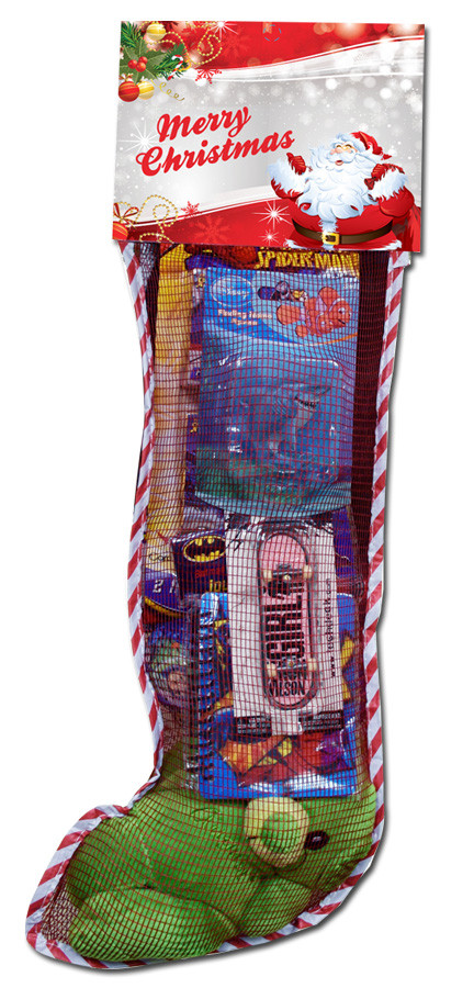 Candy Filled Christmas Stockings  2ft Toy Filled Christmas Stocking Promotion
