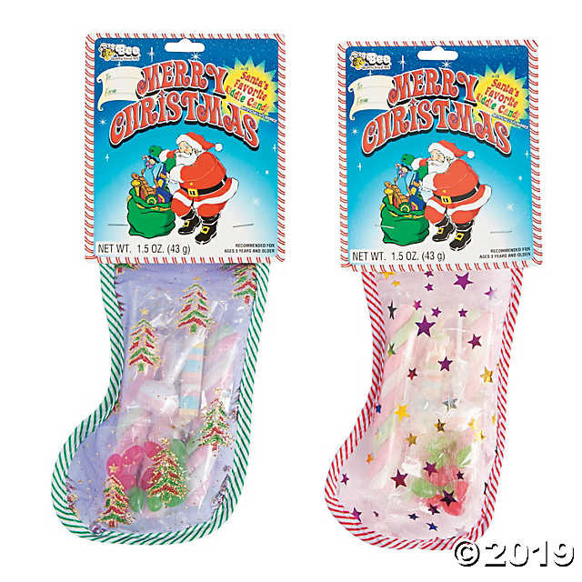 Candy Filled Christmas Stockings  Christmas Candy Filled Stockings