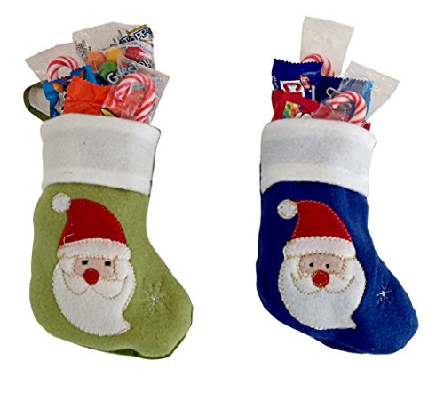 Candy Filled Christmas Stockings  Christmas Stocking Stuffed Filled with Candy and Treats