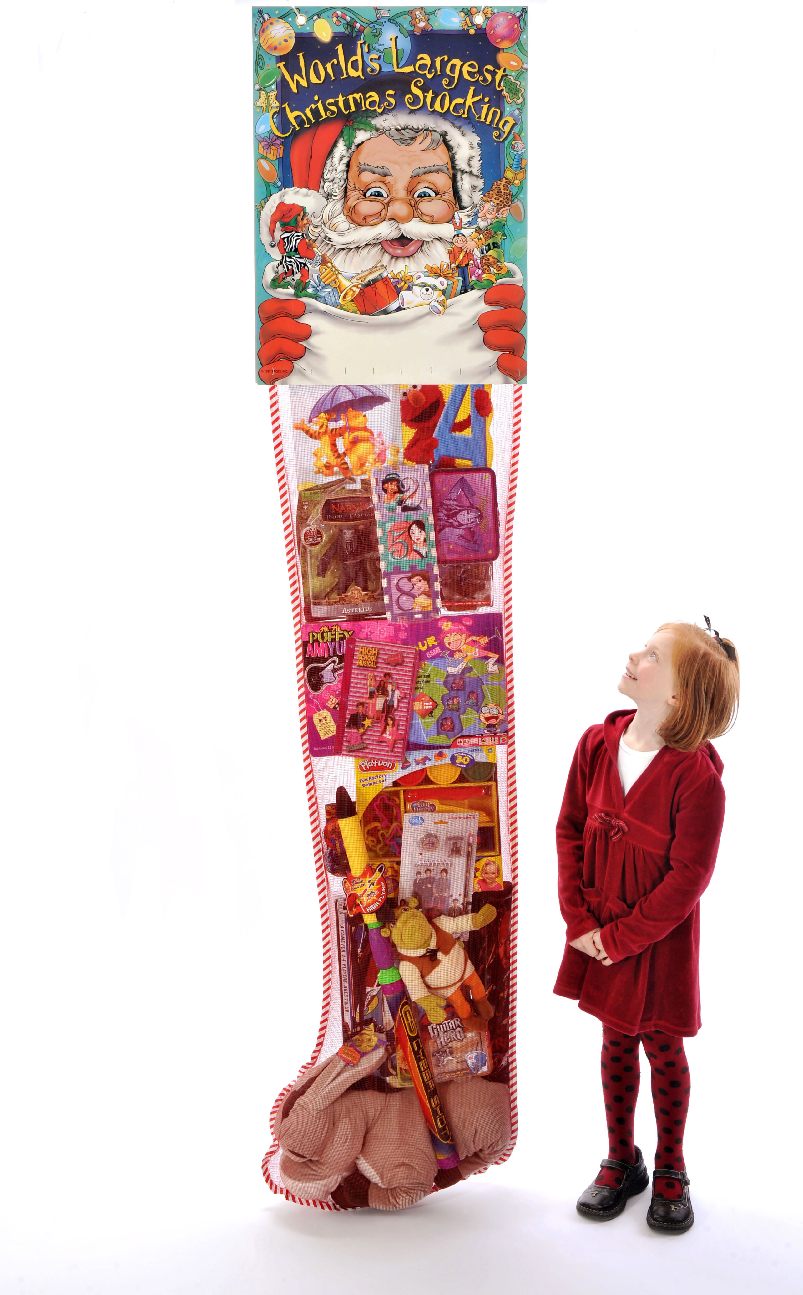 Candy Filled Christmas Stockings  Giant Christmas Stocking Retail Promotion
