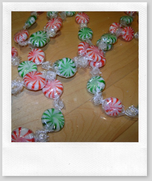 Candy Garland For Christmas Tree  Dollar Store DIY –Christmas Candy Garland Life is a Party