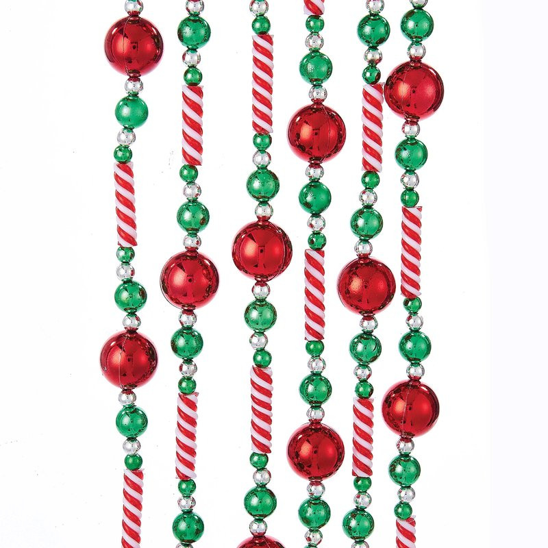 Candy Garland For Christmas Tree  Kurt Adler Candy Bead Garland with Balls & Reviews