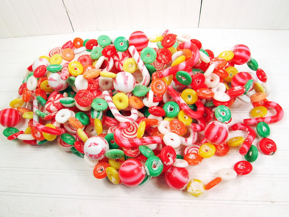 Candy Garland For Christmas Tree  Vintage Goodness 1 0 November 2013