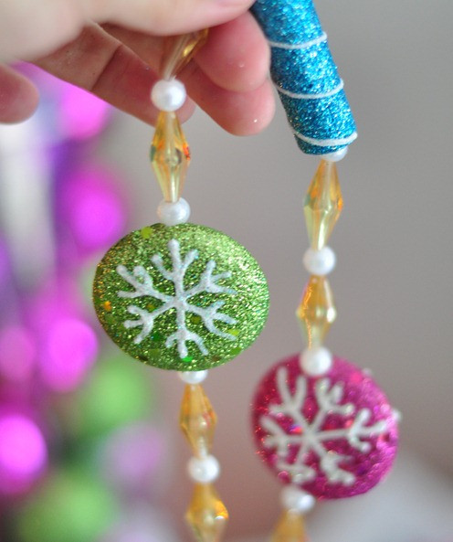 Candy Garland For Christmas Tree  Candy Colored Christmas Tree