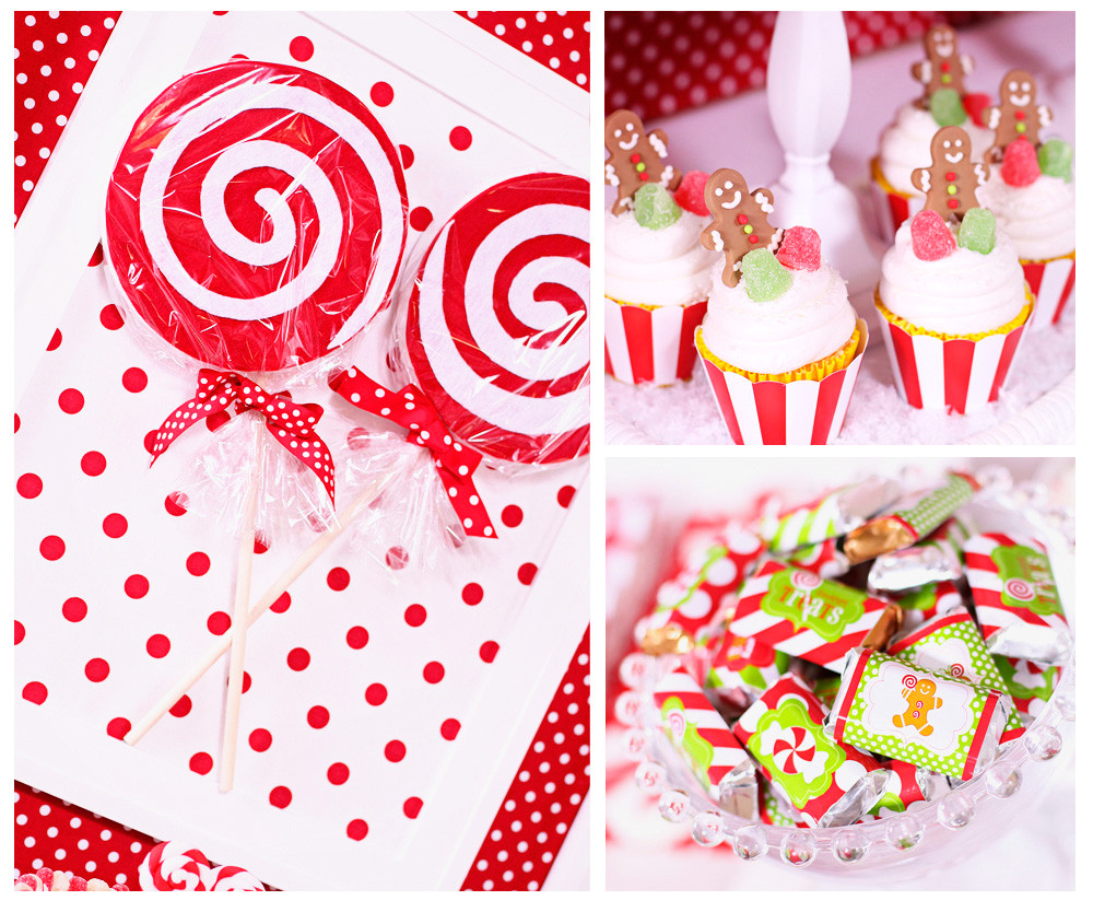 Candy Land Christmas  Kara s Party Ideas Candy Land Christmas Party