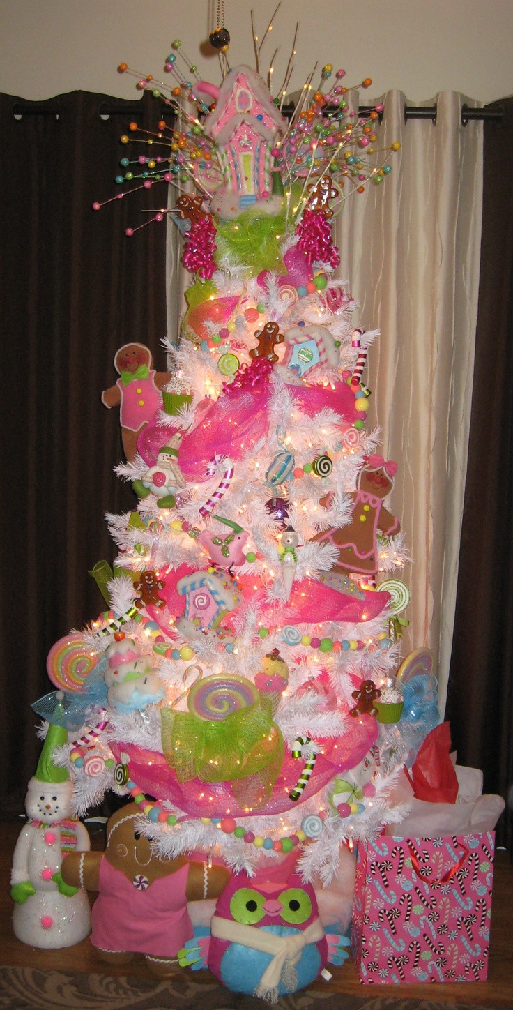 "Candy Land Christmas  ""Candyland"" inspired Christmas tree"