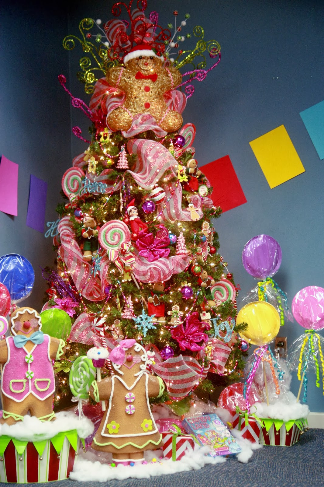 Candy Land Christmas  Ramblings of a Southern Girl Candyland Christmas Tree