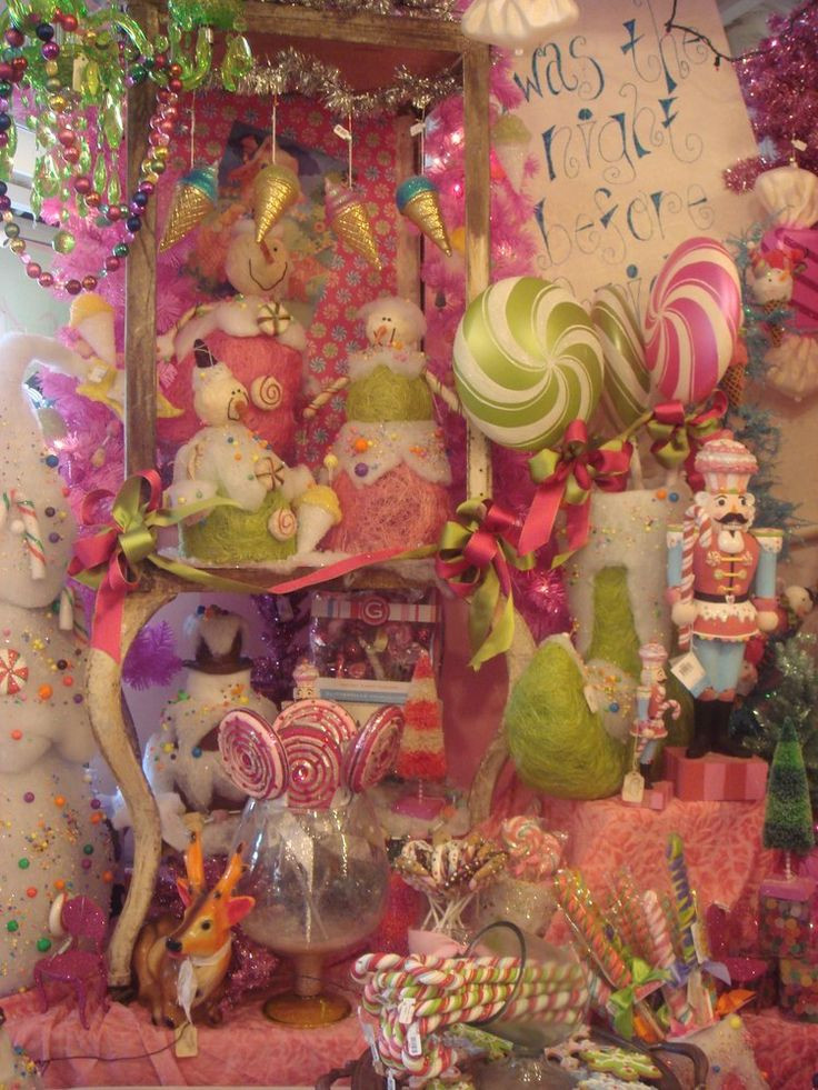 Candy Land Christmas  373 best images about Christmas Ideas Candyland Theme on