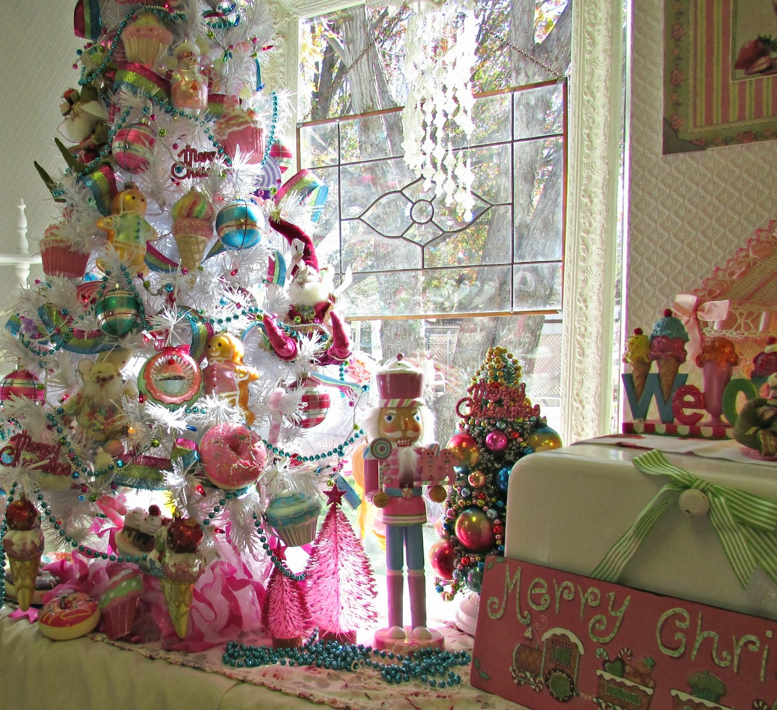 Candy Land Christmas  Penny s Vintage Home Candy Land Christmas Tree