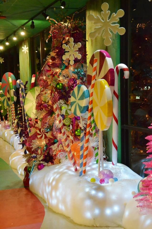 Candy Themed Christmas  Best 25 Candy land christmas ideas on Pinterest