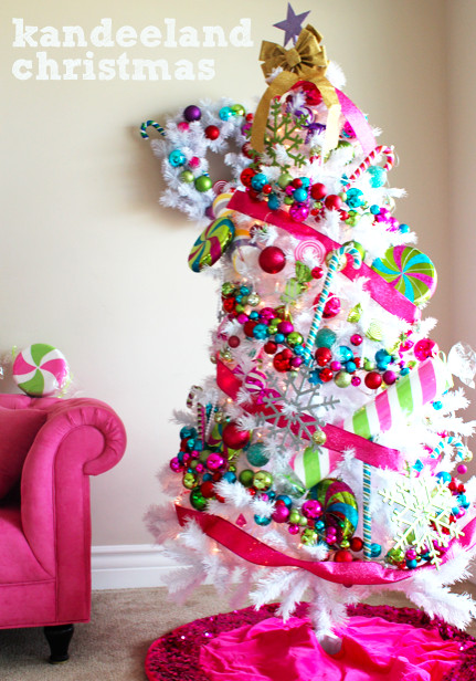 Candy Themed Christmas  kandeej My Candyland or Kandeeland Holiday House Tour