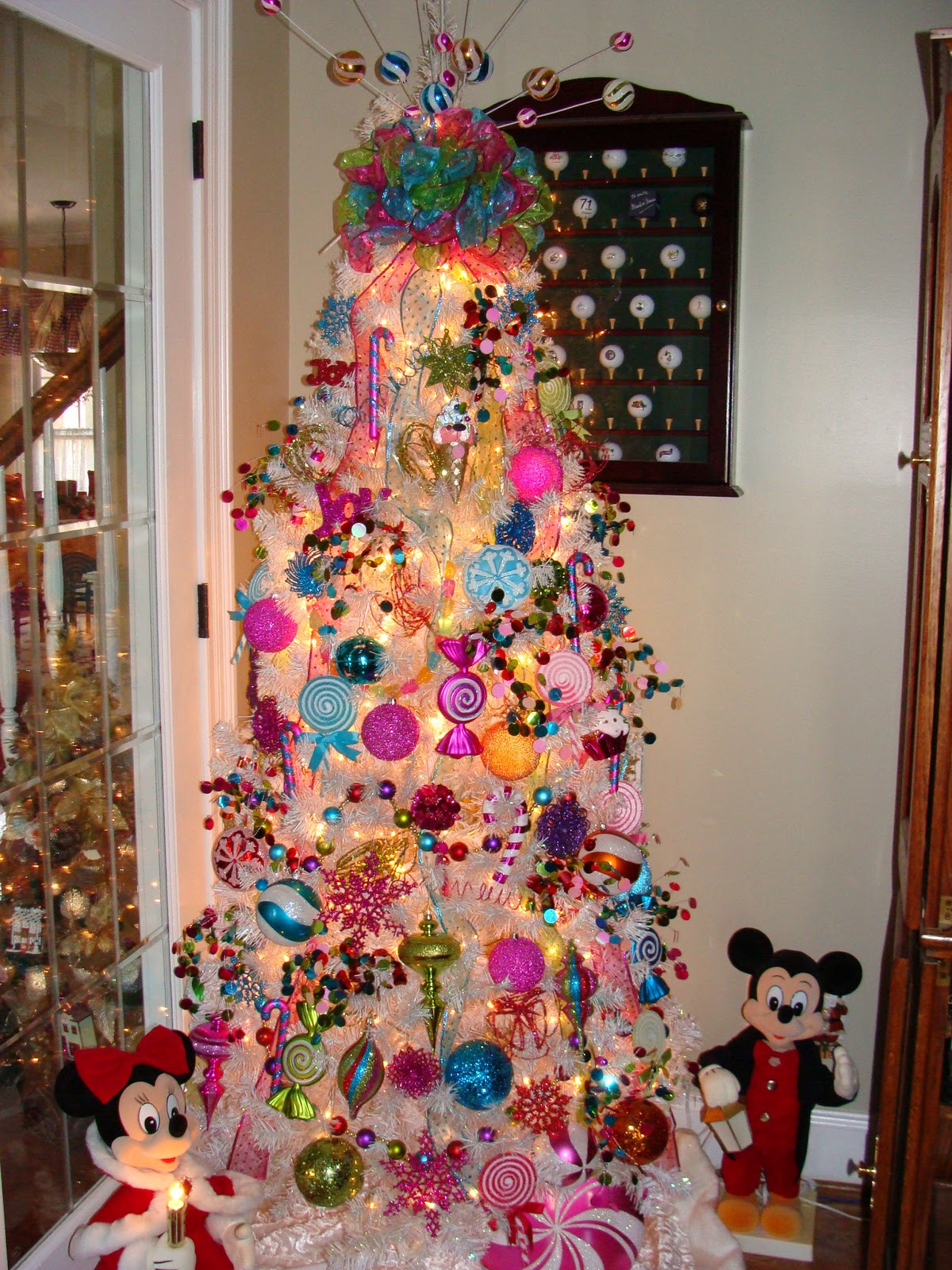Candy Themed Christmas Tree  Simple Treasures The Twelve Days of Christmas Day 7