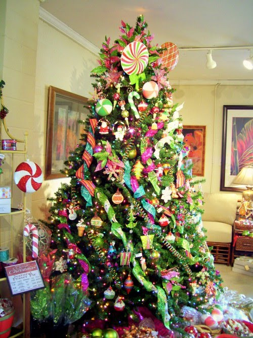 Candy Themed Christmas Tree  Creative Pursuits Candyland Christmas