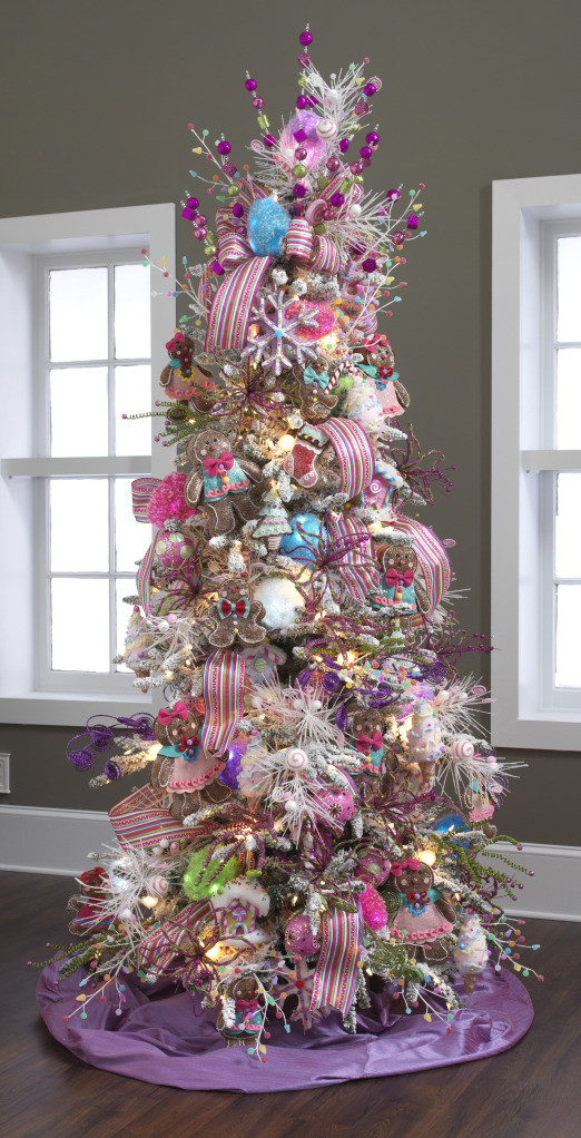 Candy Themed Christmas Tree  RAZ Christmas at Shelley B Home and Holiday Candy
