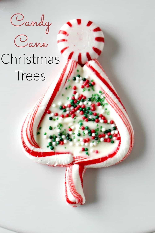 Candy To Make For Christmas  Candy Cane Christmas Trees Princess Pinky Girl
