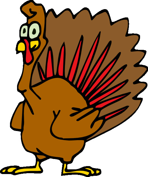 Cartoon Thanksgiving Turkey  Cartoon Turkey Clip Art at Clker vector clip art