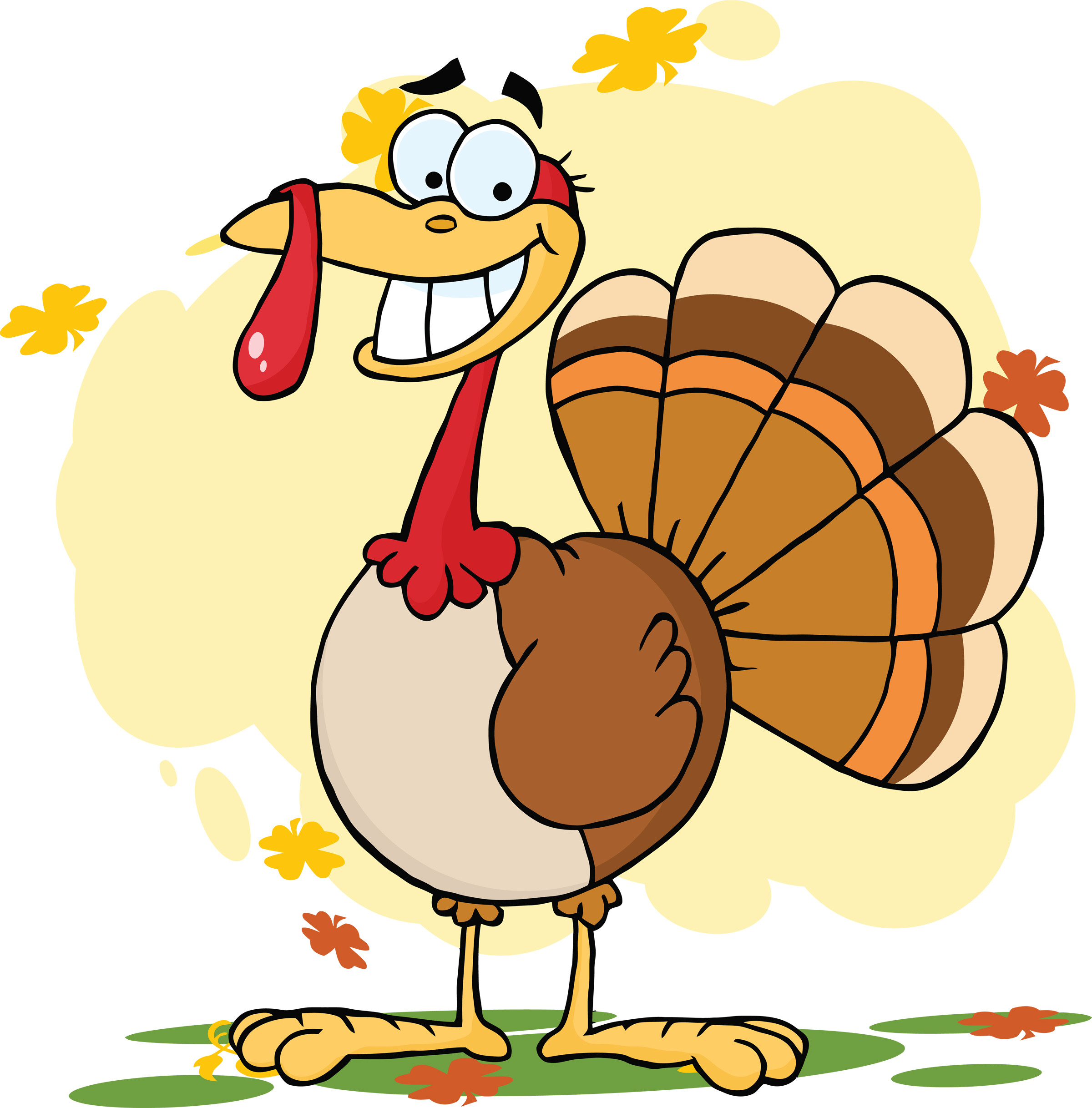 Cartoon Thanksgiving Turkey  Friday Feature steinbronn