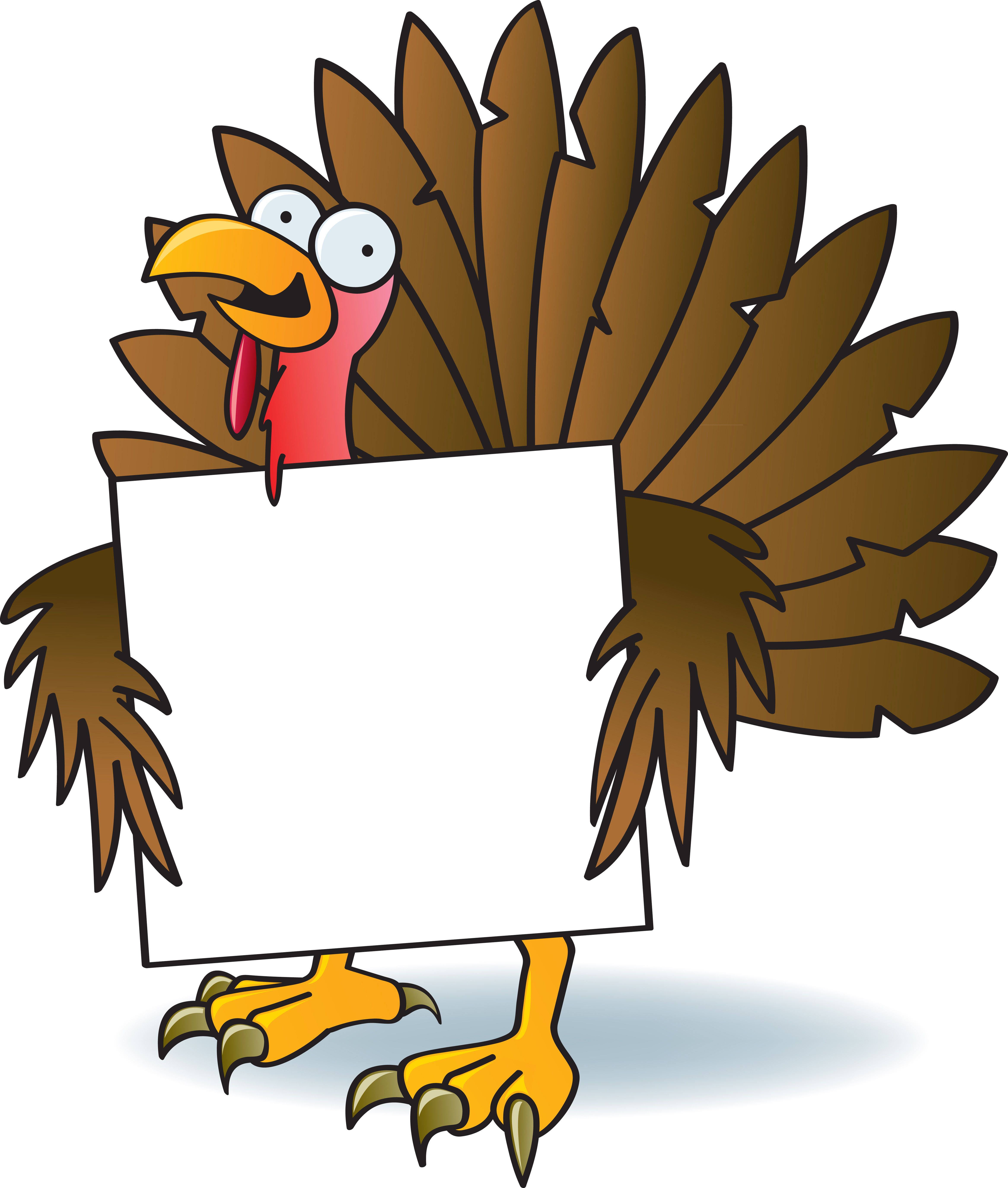 Cartoon Thanksgiving Turkey  Thanksgiving Cartoons to Pin on Pinterest PinsDaddy