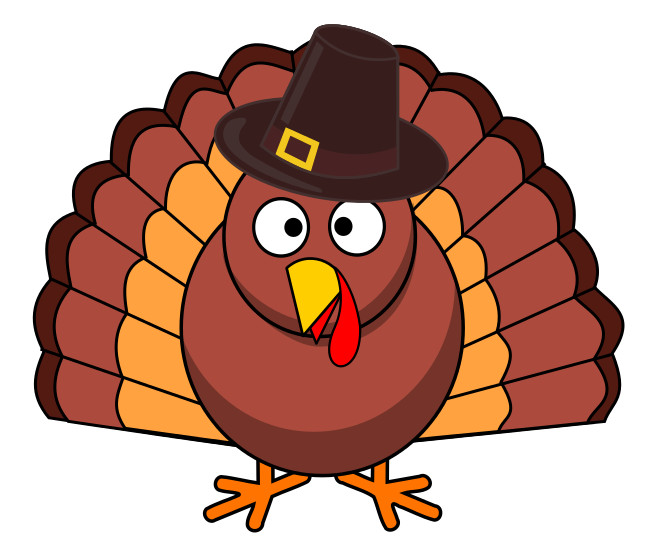 Cartoon Thanksgiving Turkey  Free Turkey Day Clipart 1 page of Public Domain Clip Art