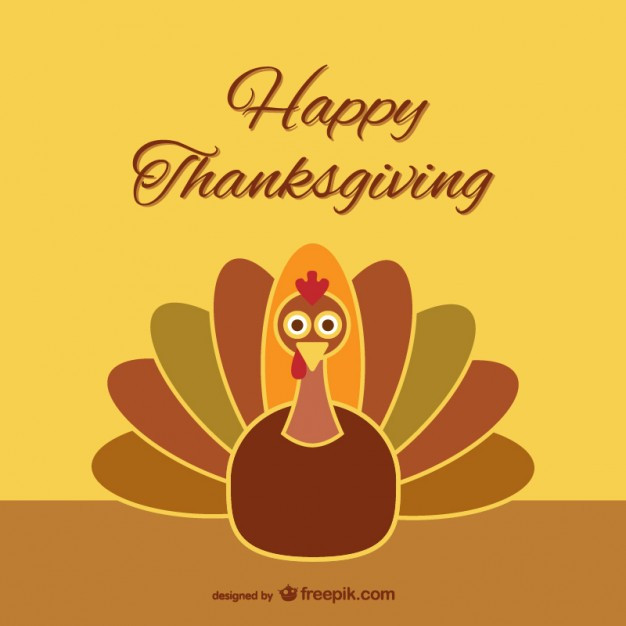 Cartoon Thanksgiving Turkey  Thanksgiving turkey cartoon Vector