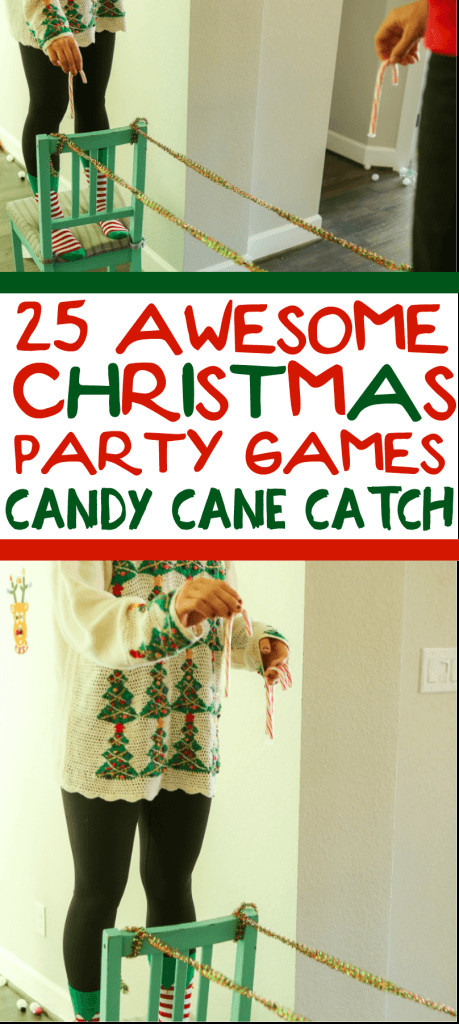 Catch The Candy Christmas  25 Hilarious Minute to Win It Christmas Games for Kids and