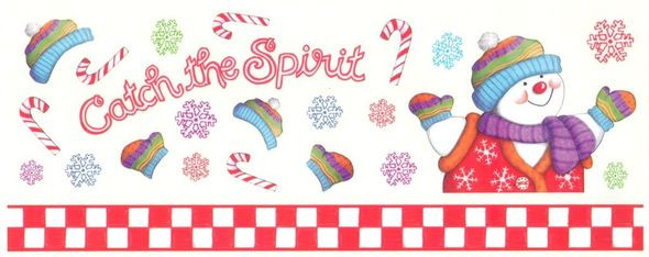 Catch The Candy Christmas  Memories in the Making Stickers CATCH THE SPIRIT