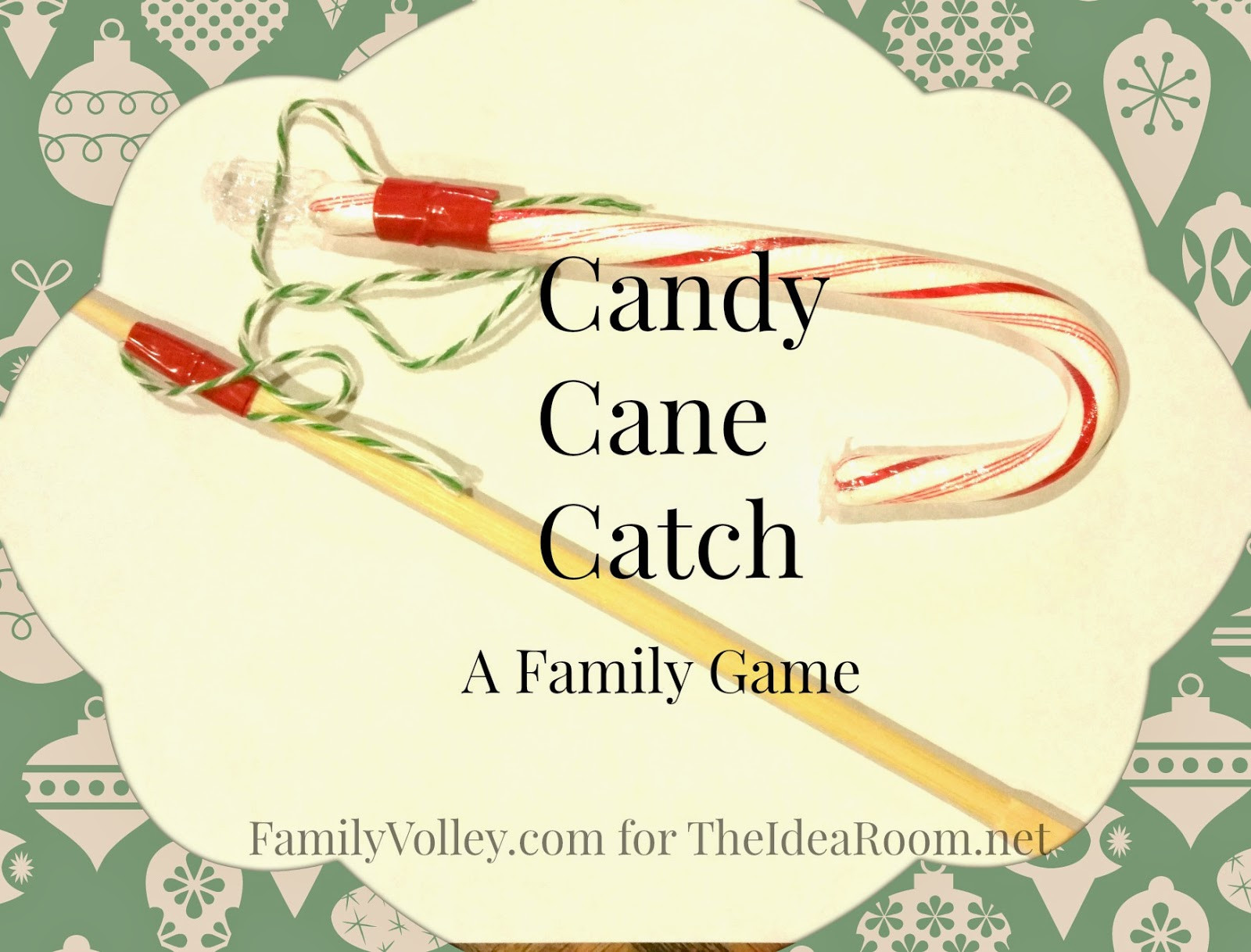 Catch The Candy Christmas  Holiday Game Candy Cane Catch The Idea Room