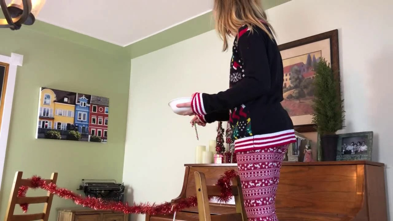 Catch The Candy Christmas  Minute to Win It Candy Cane Catch Christmas Game