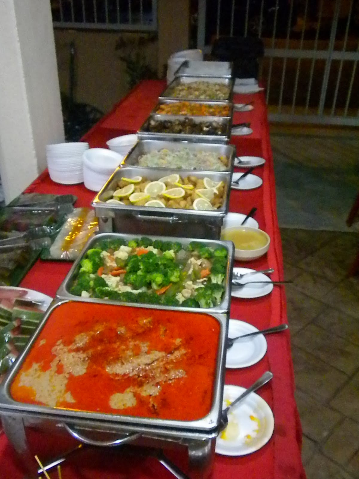 Catered Christmas Dinners  Alf s Creative Food Catering Services and Event Management