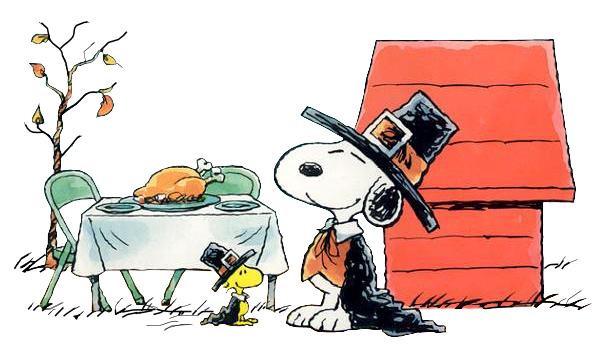 Charlie Brown Thanksgiving Dinner  November 2011