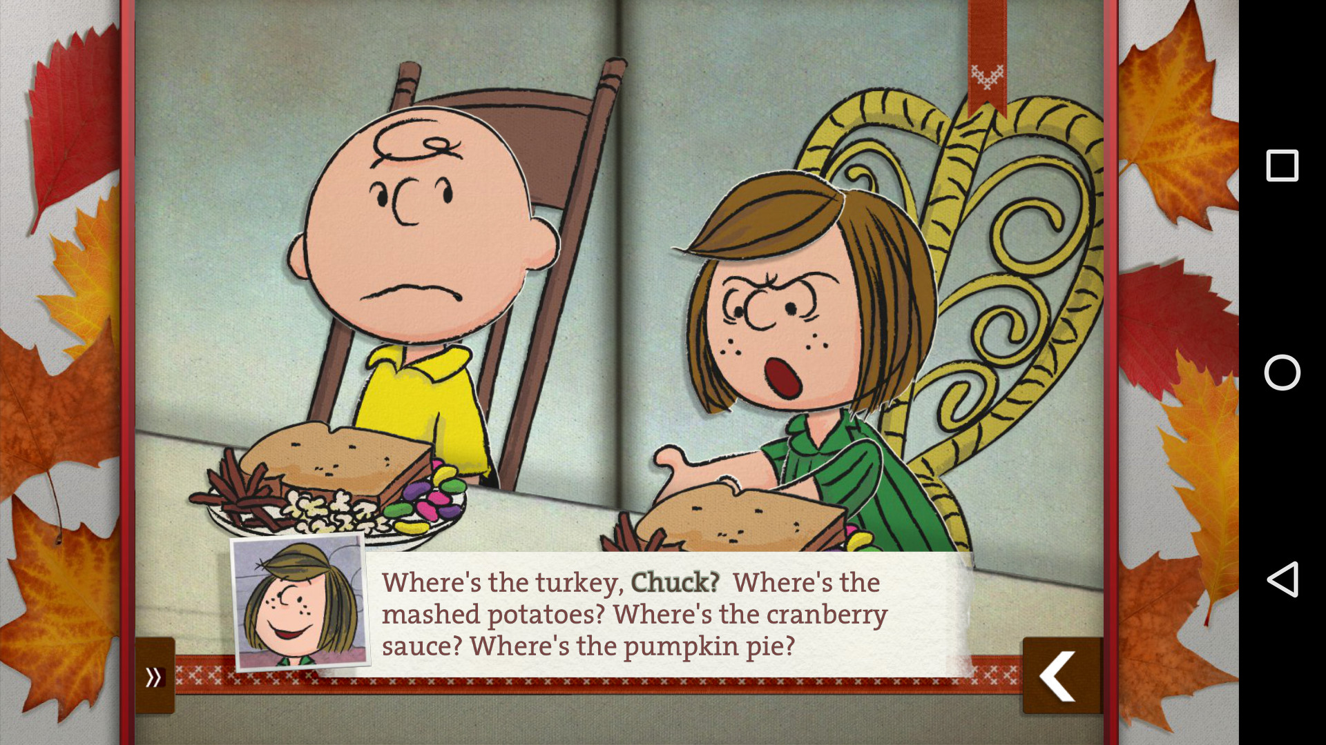 Charlie Brown Thanksgiving Dinner  Pull off an amazing Thanksgiving feast with these 12